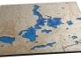 Jezioro Ukiel szkło 60x60 flat